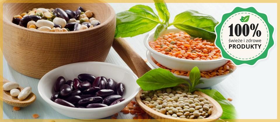 świeże i zdrowe produkty